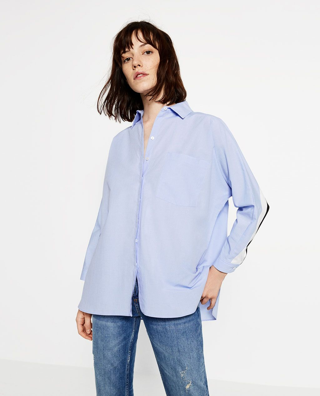 Oversize Zarachemises Blouses Zara Yyfv7b6g Shirtstyle Women Et Amoureux TKc5ul31JF