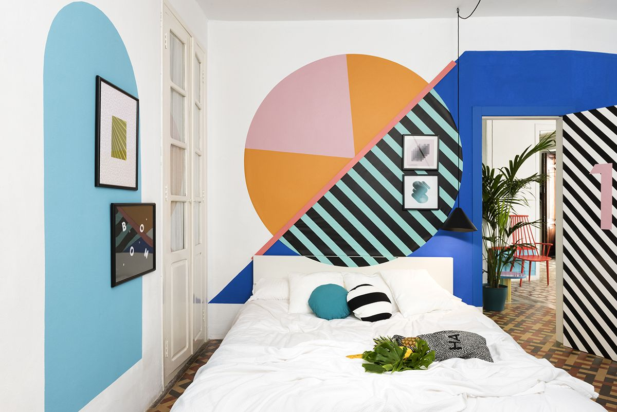 Masquespacio Presents Its Last Interior Design Project For Valencia Lounge  Hostel, A Hostel Of 11 Rooms Distributed Over 236 Situated In The Old Town  Of ...