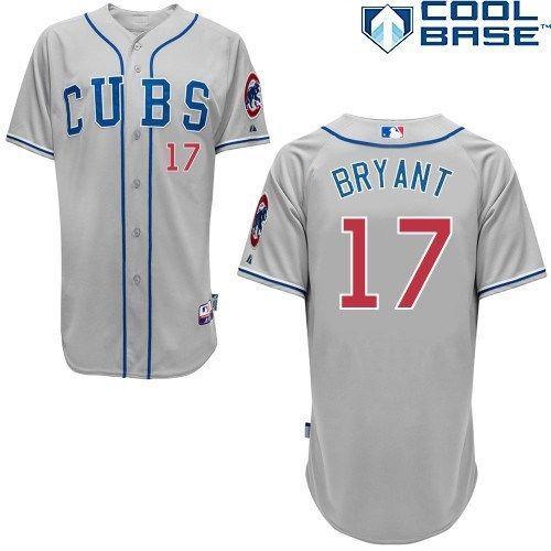 40de866ba CHICAGO CUBS AUTHENTIC KRIS BRYANT ALTERNATE ROAD COOL BASE JERSEY   ChicagoCubs  Cubs  CubsFans  GoCubs  Chicago