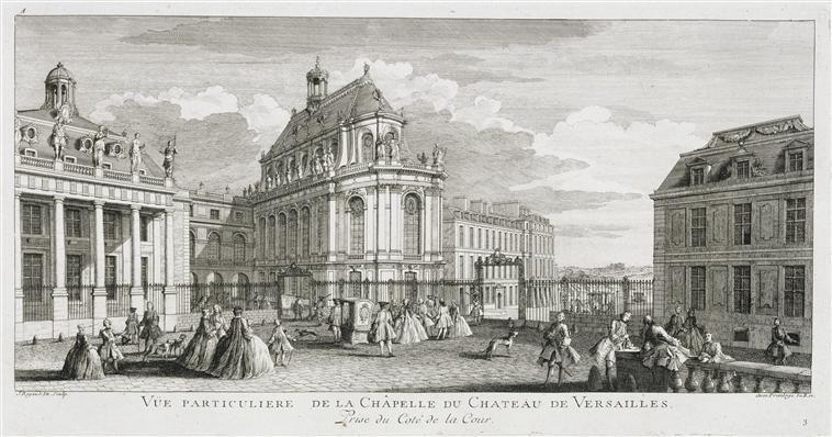 Vue du chevet de la chapelle royale de Versailles - Schloss Versailles – Wikipedia