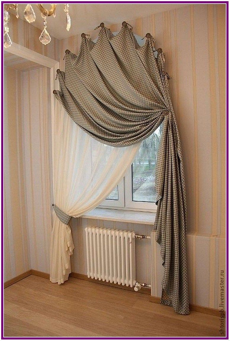 29 Simple Farmhouse Window Treatments 00013 With Images
