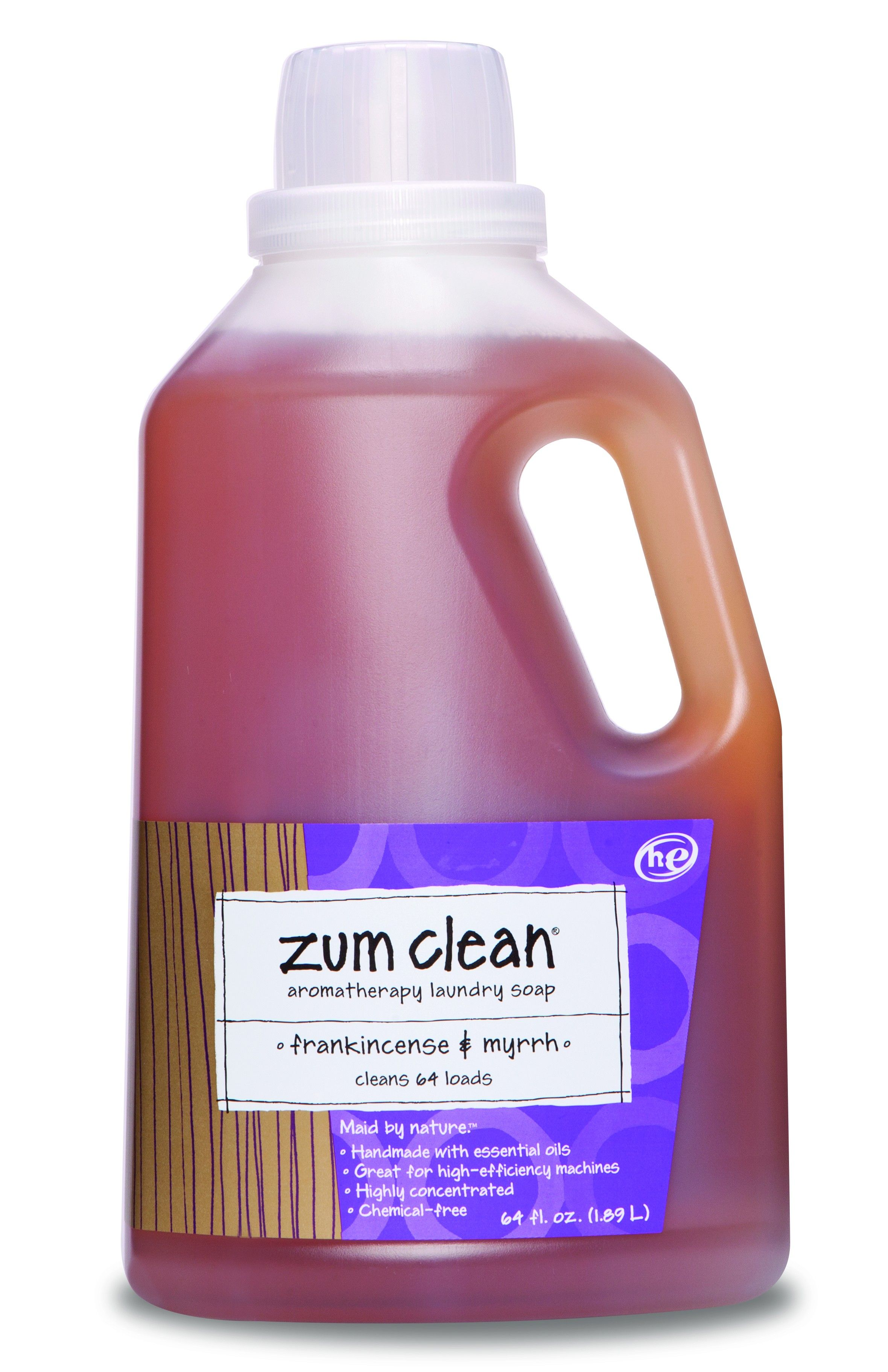 This Frankincense Myrrh Laundry Detergent Is Environmentally