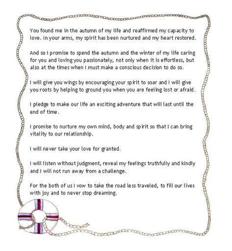 Wedding Ceremony Script For Older Couple 67+ Ideas