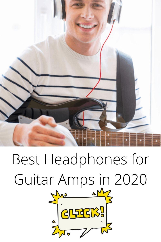 Best Headphones For Guitar Amps In 2020 In 2020 Guitar Amp Acoustic Guitar Amp Headphones