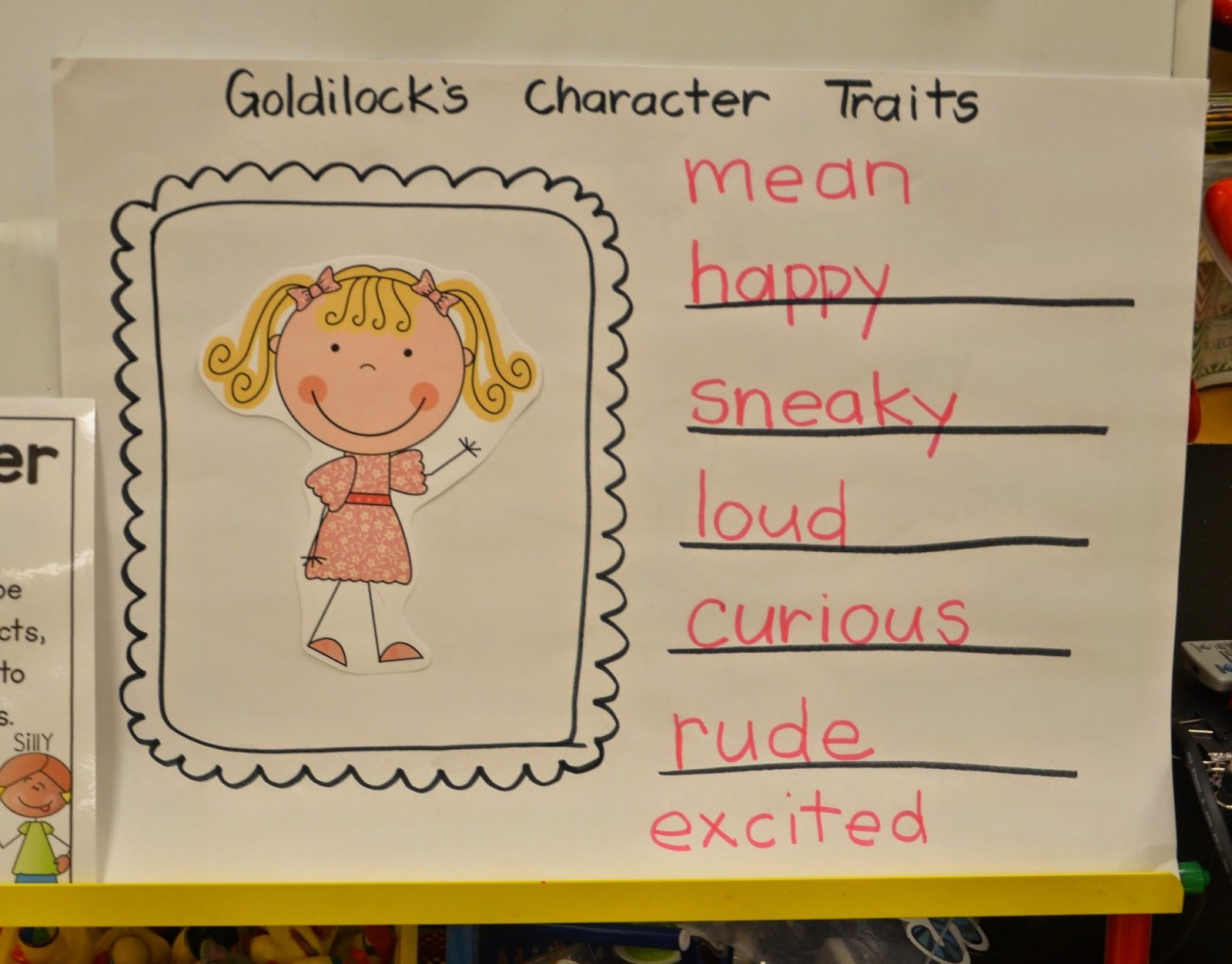Character Traits In Kindergarten