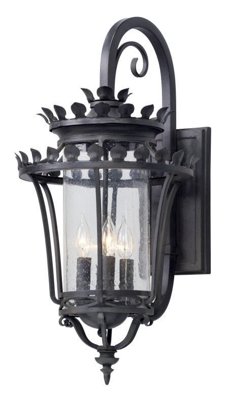 Troy lighting b5133 greystone 4 light 14 wide hand forged outdoor troy lighting b5133 greystone 4 light 14 wide hand forged outdoor wall sconce w forged aloadofball Image collections