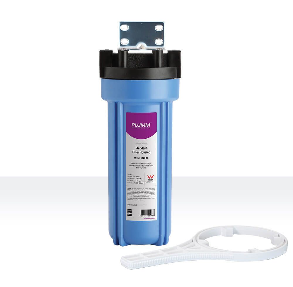 The Plumm Hs20 10 Filter Housing Is Made From Premium Grade Polypropylene Making It Highly Durable And Is Filters Water Filters System Water Filter Housings