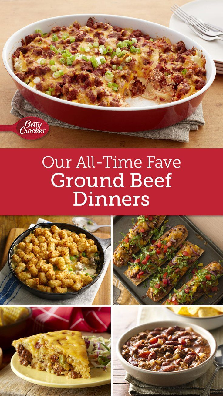 Our Greatest Ground Beef Recipes Of All Time Ground Beef Recipes Ground Meat Dinners Beef Dinner