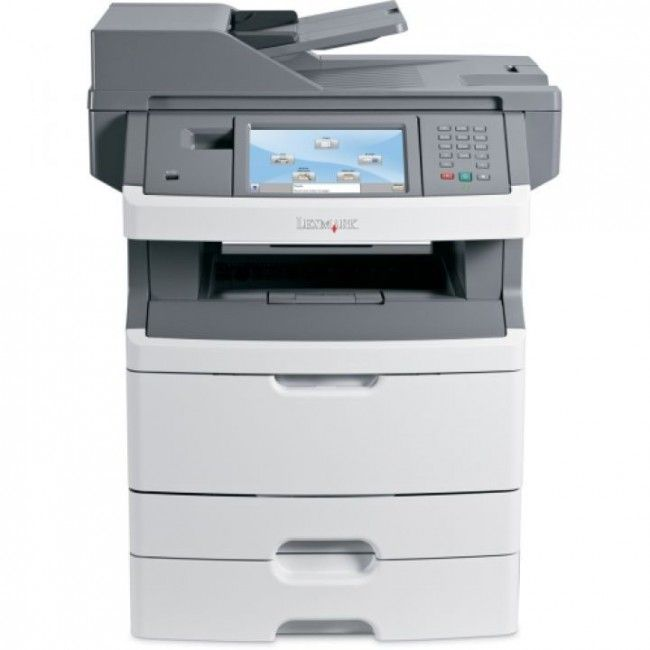 Imprimanta Multifunctionala Laser Monocrom Lexmark X466de 34s7904 Tava Suplimentara Bonus Cartus 15000 Pagini Laser Printer Lexmark Multifunction Printer