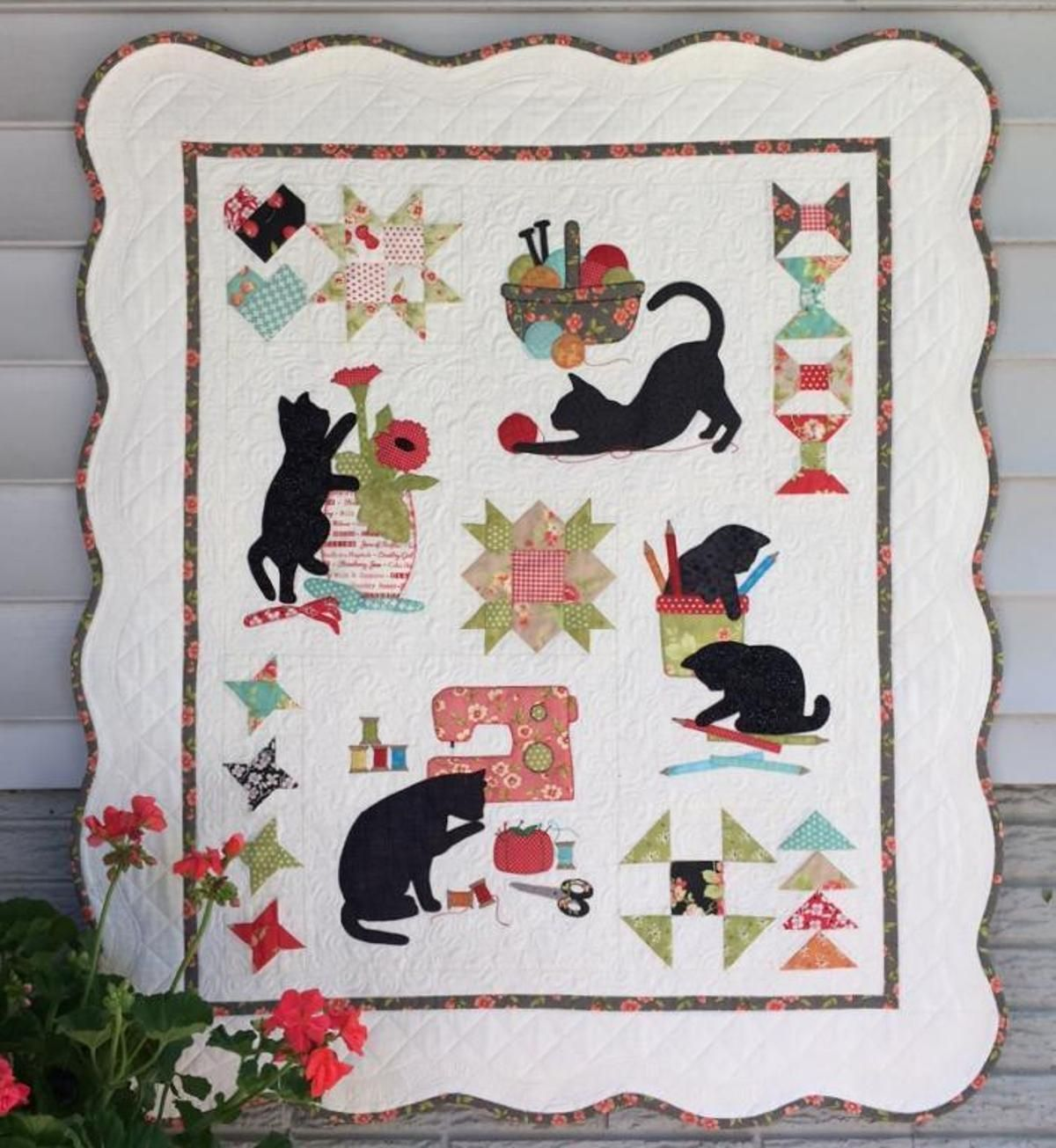 B.O.M. 2016 Border and Assembly Only | Craftsy | Quilts | Pinterest
