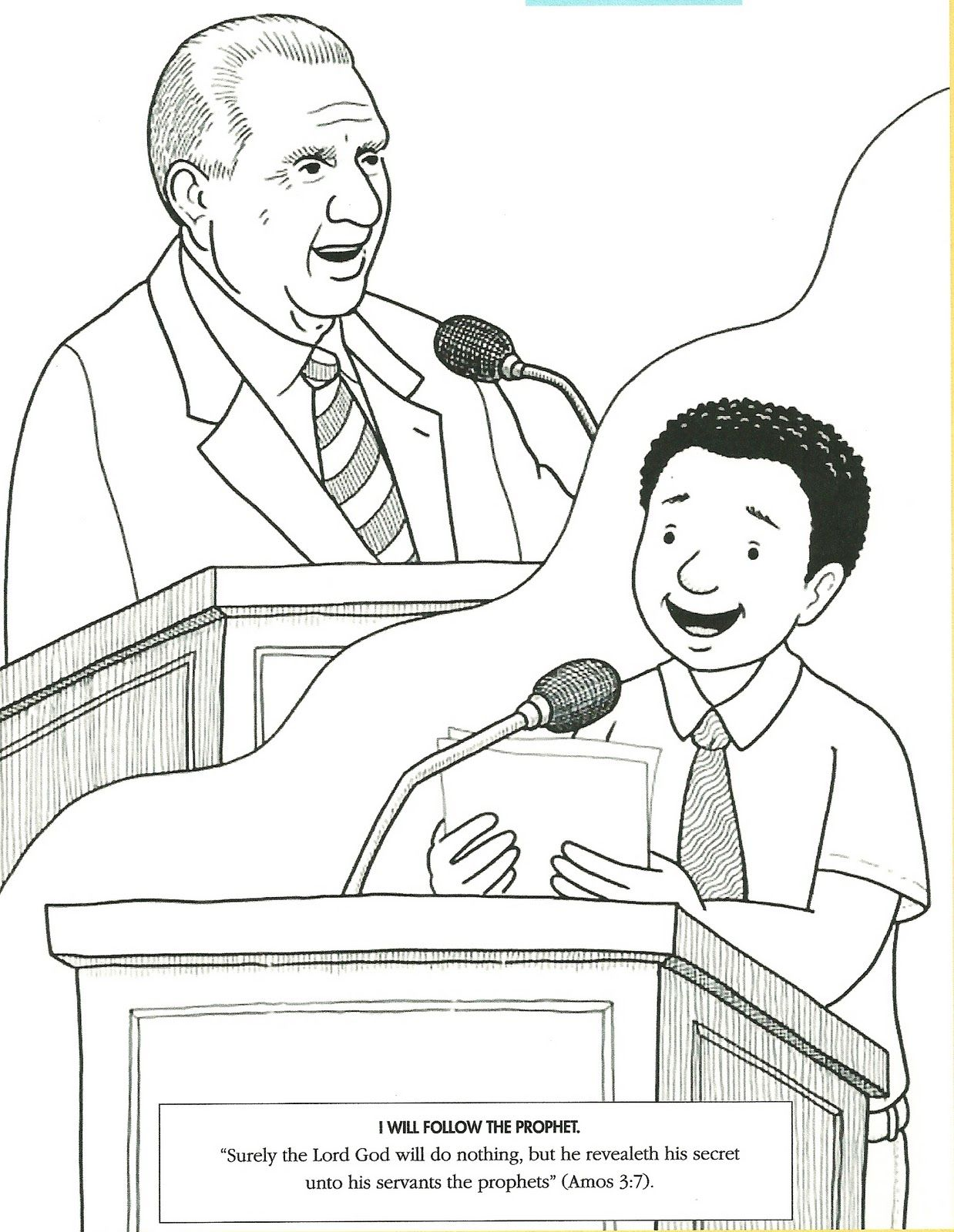 primary 5 lesson 31  general conference activities book