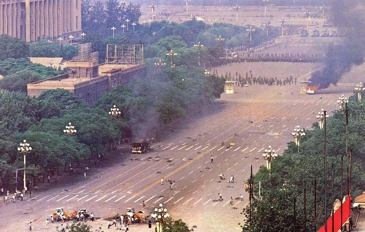 Tiananmen Square 89 A Different Angle Old Photos Chinese