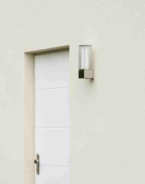 690335 Albert Edelstahl Wandleuchte Das Besondere! wall light lamp ...