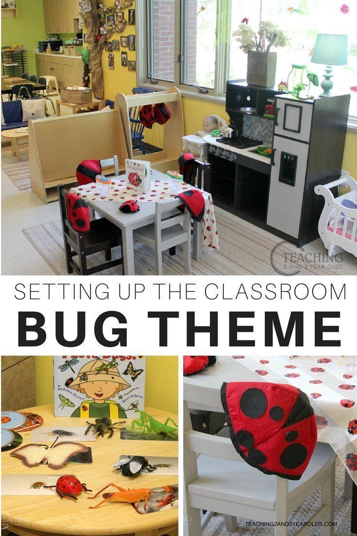 Setting Up the Classroom for the Bug Theme – Bugs preschool #preschoolclassroomsetup