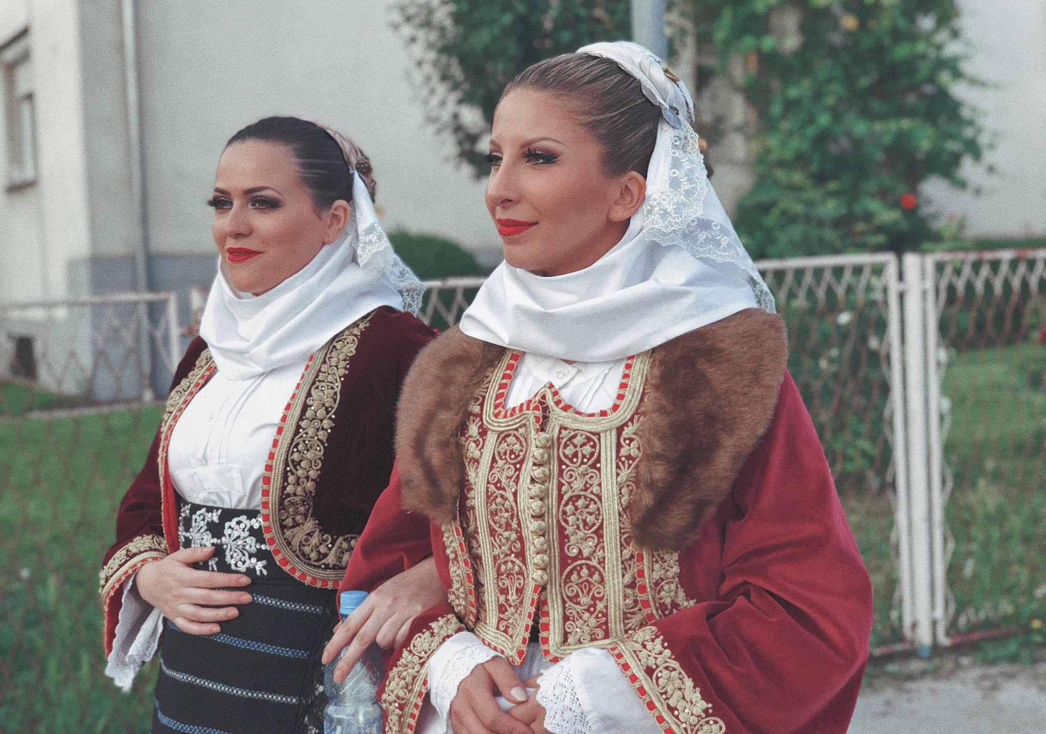 Serbian traditional costume Macva KUD Zavicaj Winterthur CH