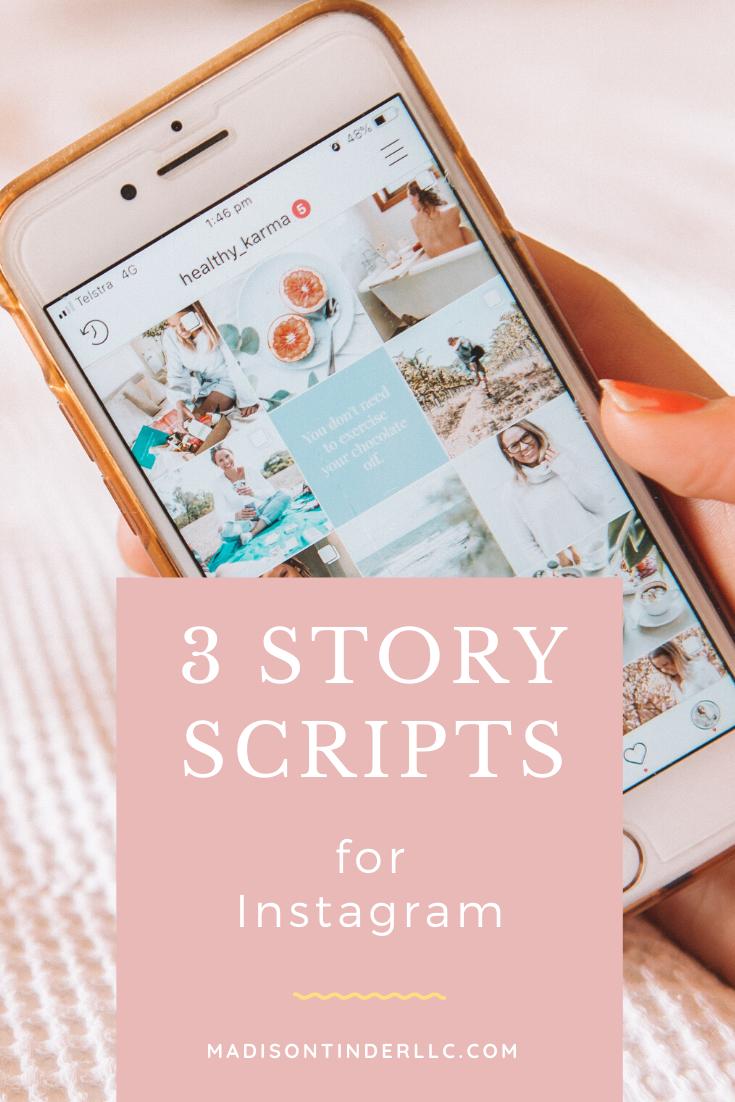 3 Free Instagram Story Selling Scripts In 2021 Instagram Business Marketing Instagram Story Free Instagram