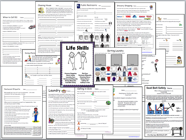 Empowered By THEM Life Skills Worksheets – Job Skills Worksheets