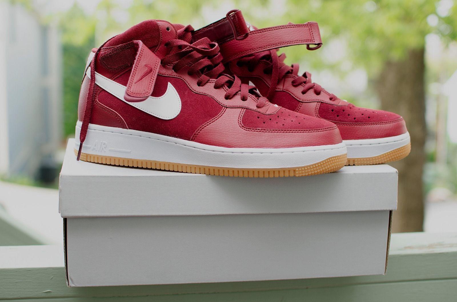 Cheap Brand Shoes Nike Air Force 1 Mid 07 Team 315123 608