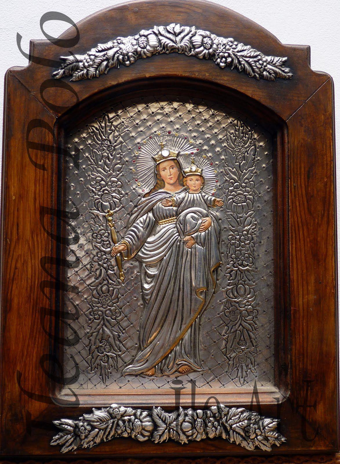cuadro virgen de guadalupe lo tenemos repujado en aluminio ileart cuadros en repujado y Oleo obras de la virgen maria auxiliadora