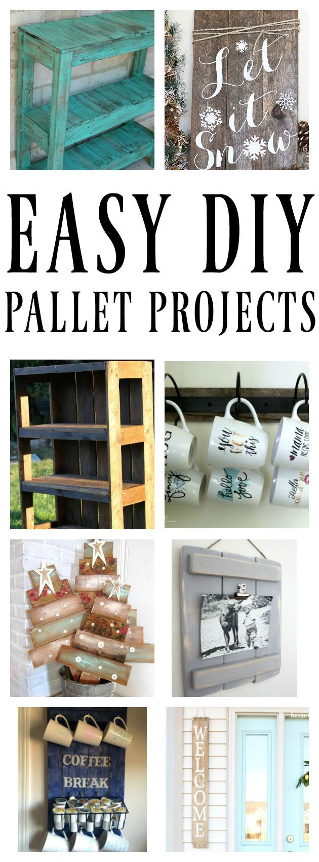 Info's : Easy DIY Pallet Projects
