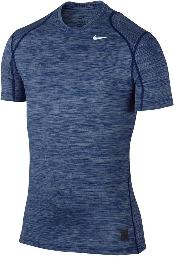 26ff9b446 Nike Men's Pro Cool Dri-FIT T-Shirt | Mens Athletic Shirts in 2019 ...