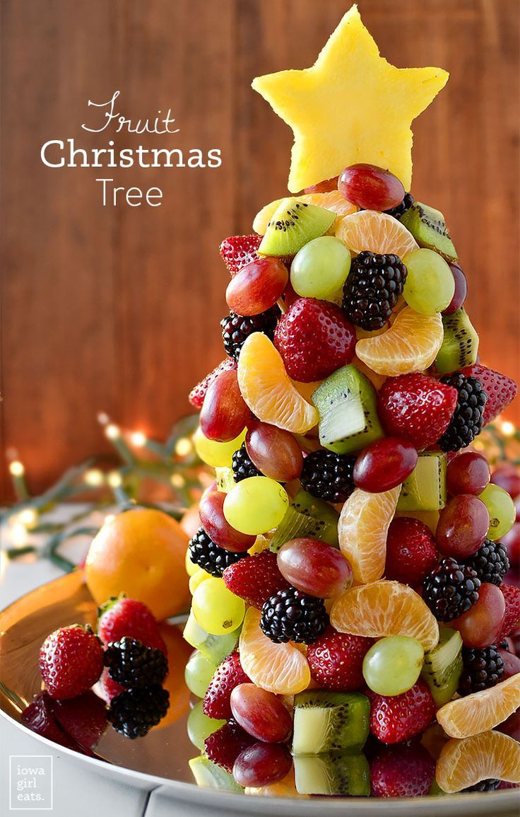 Fruit Christmas Tree Recipe Fruit Christmas Tree