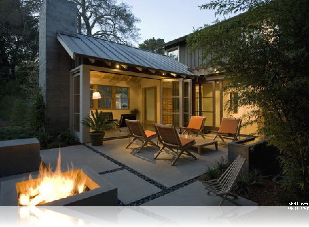 amazing concrete patio design in modern house design ideas simple home design ideas - Concrete Patio Design Pictures