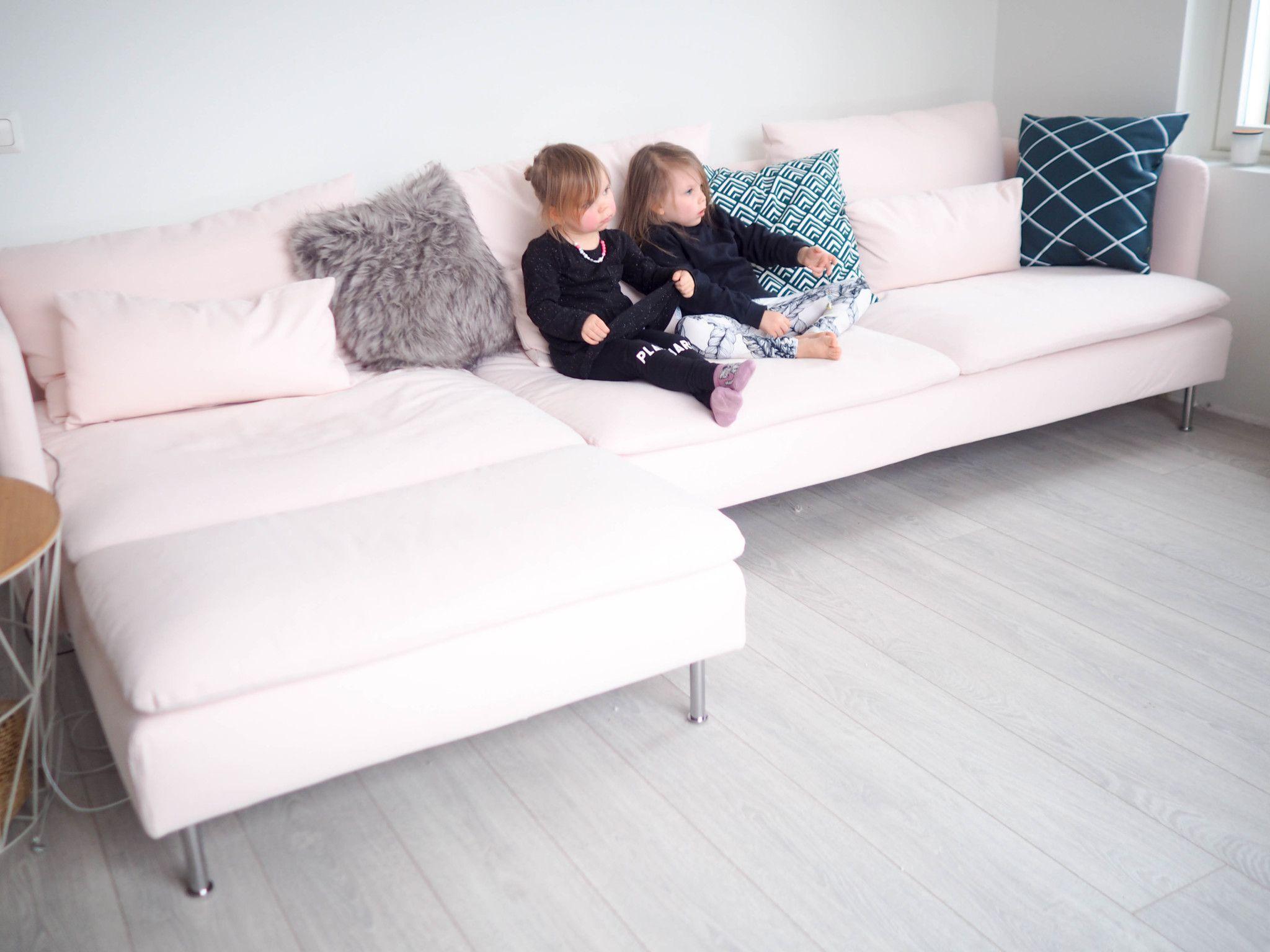SÖDERHAMN Samsta pink ikea sofa Decoracion