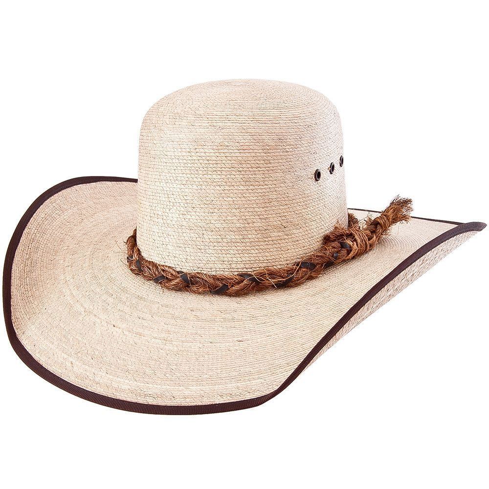 4b5896afefa89 Sahuayo Palm Leaf Open Crown Cowboy Hat in 2019 | texas | Cowboy ...
