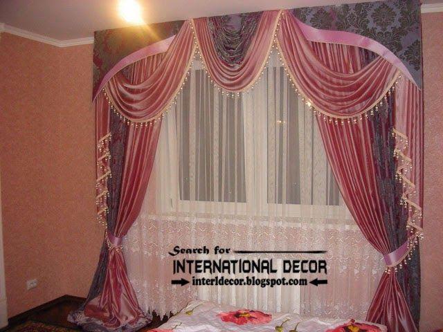 Bon Stylish Bedroom Curtain And Drapes, Romantic Bedroom Curtain Styles