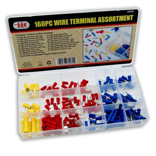 Wire Terminal 160pc  Assortment