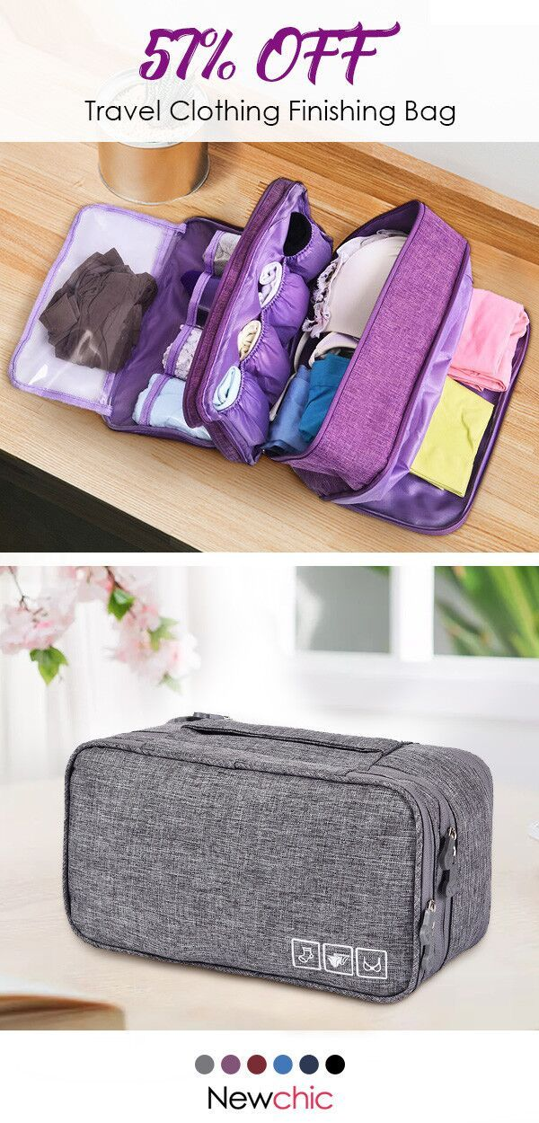 【57% off】Travel Clothing Finishing Bag Travel Clothes Underwear Bra Storage Bag.#storagebag#travel#outdoor#underwearbra #holidayclothes