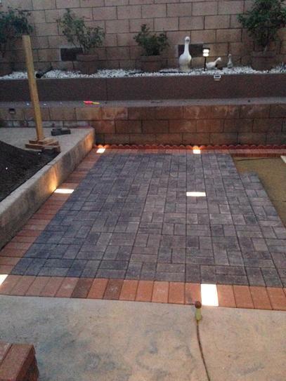 Kerr Lighting 14 Light Outdoor Paver Light Kit Kpav04 14 088k The Home Depot Patio Pavers Design Diy Stone Patio Patio Design