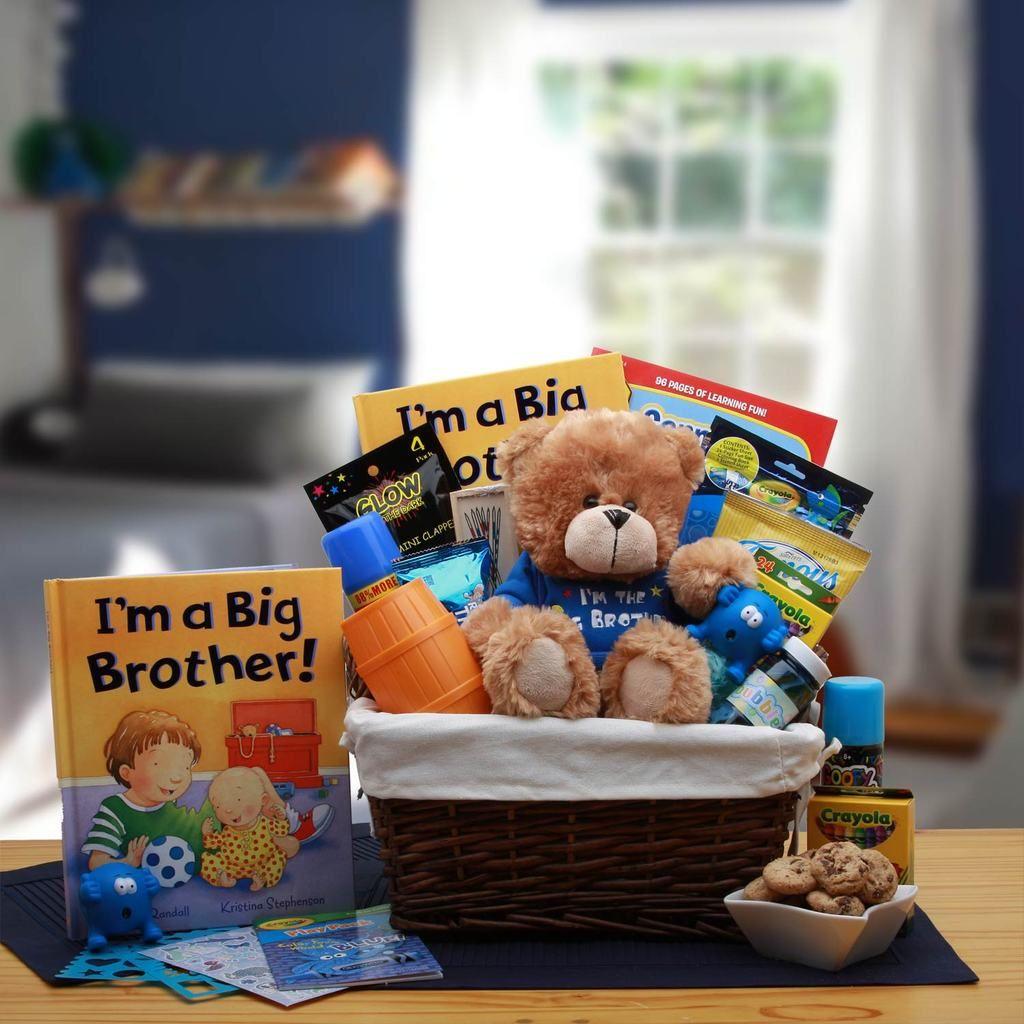 Dont big brother or sister gift basket childrens
