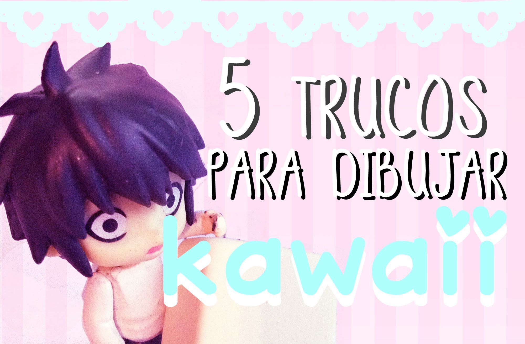 Trucos para dibujar KAWAII | 5 Tips Básicos | DECORACION CUARTOS DE ...