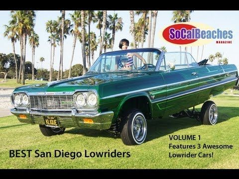 Best San Diego Lowriders Low Rider Cars Volume 1 - YouTube