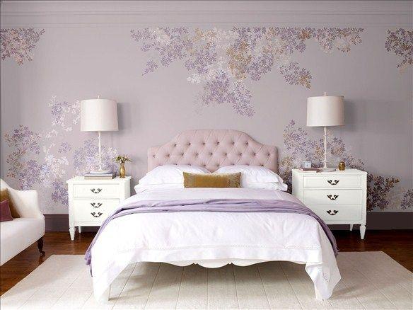 Elegant Master Bedroom Wall Color Violetta Base Molding Color