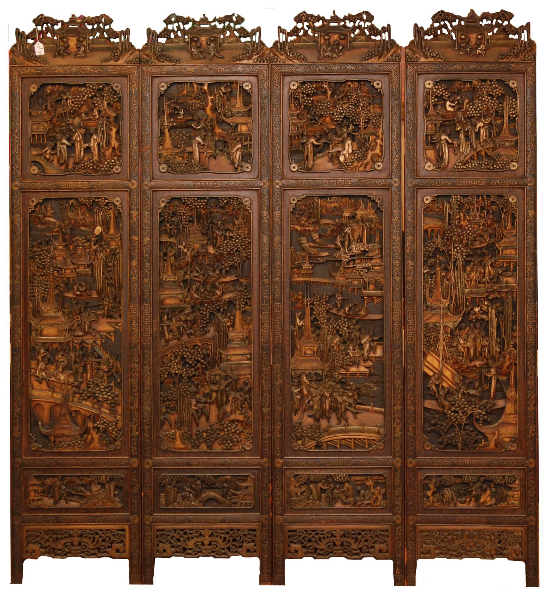 Carved Wood Screens ~ Antique carved wood panels best decor ideas