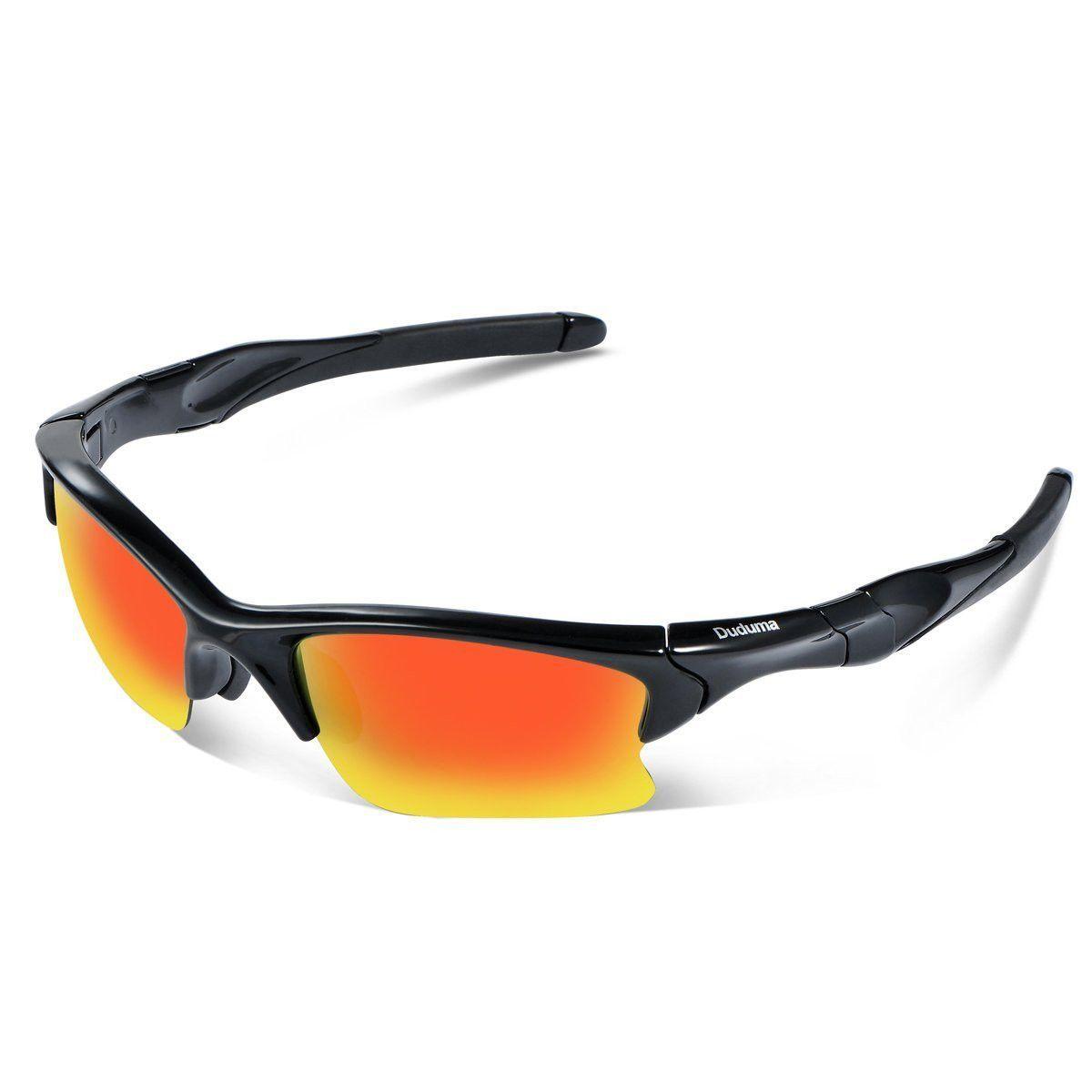 29e4bf6aa3 Duduma Polarized Sports Sunglasses for Men Women Baseball Fishing Golf  Running Cycling Driving Softball Hiking Floating Unbreakable Shades Tr566