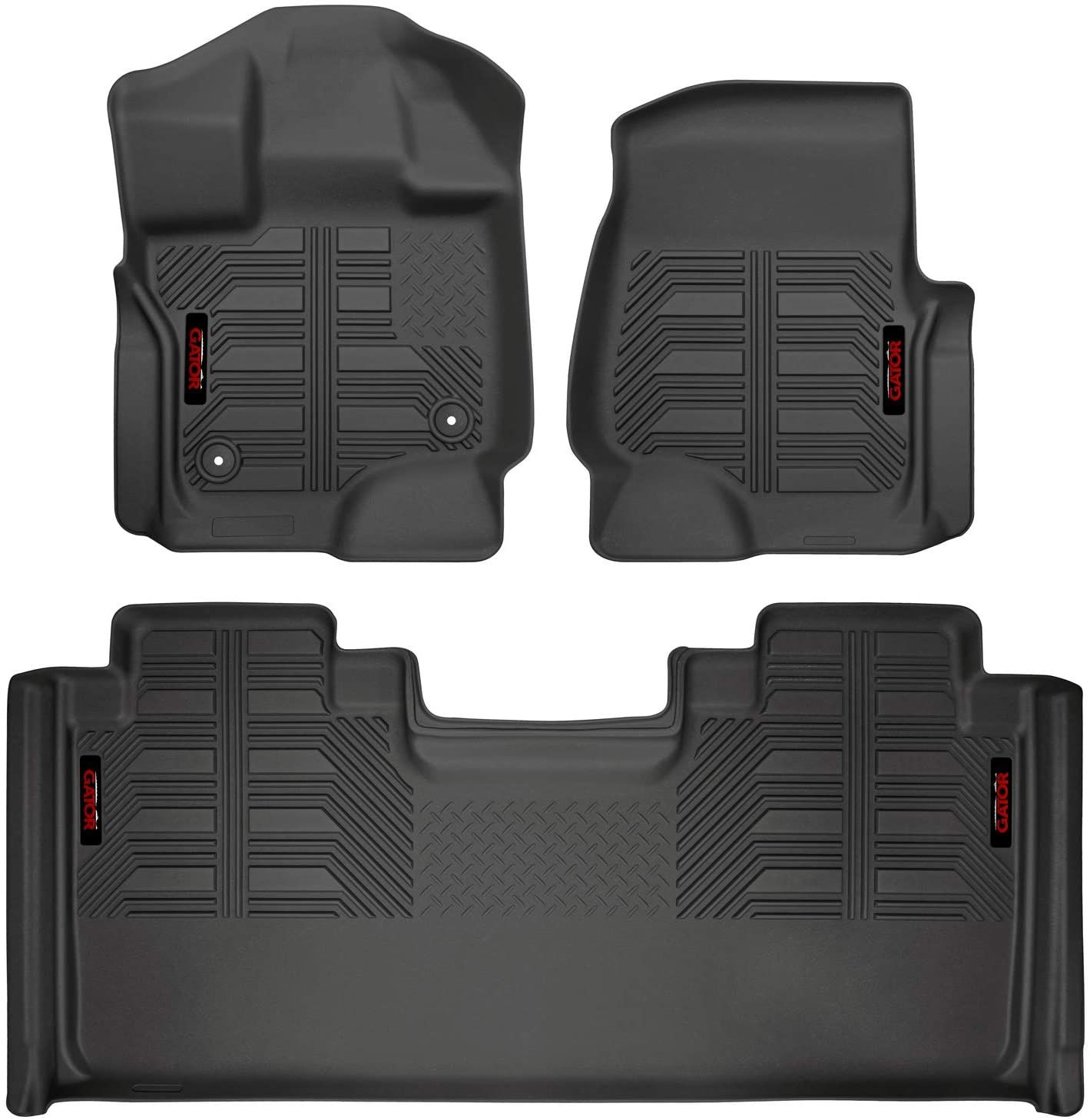 Gator Accessories 79610 Black Front And 2nd Seat Floor Liners Fits 2015 20 Ford F 150 Supercab In 2020 Ford F150 Floor Liners Ford