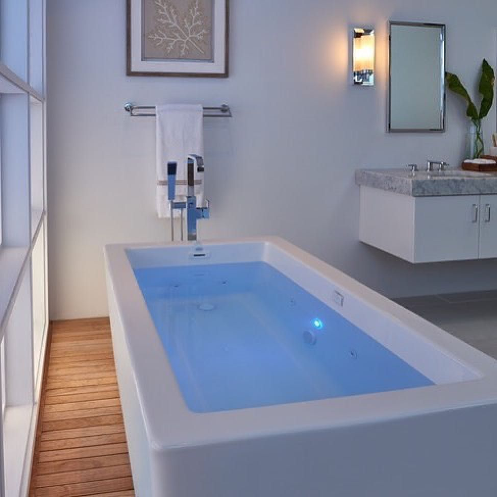 Our the Bianca Freestanding Bathtub is available in the Whirlpool ...