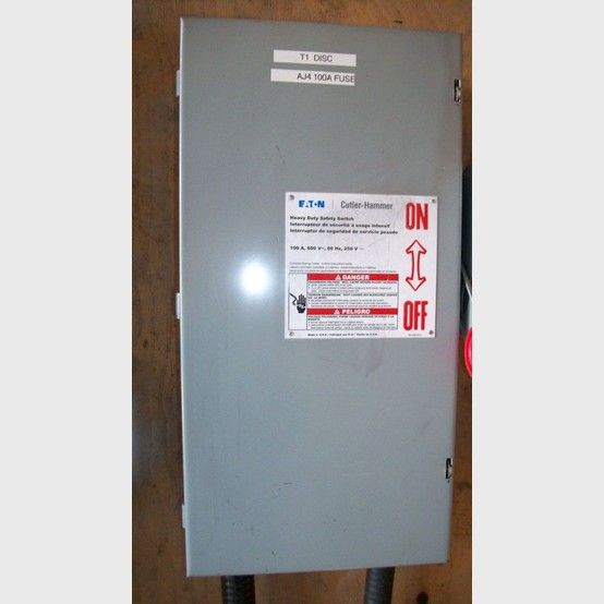 100 Amp Disconnect >> Cutler Hammer Electric Disconnect Supplier Worldwide Used Cutler