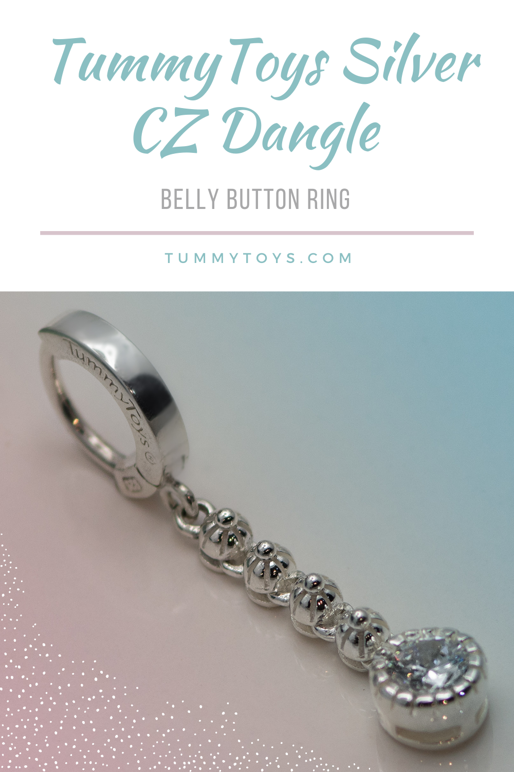 Here we have a lovely and long solid silver belly ring. With a silver flower chain with a 7mm CZ at the bottom, The Charm is 1 inch long (25mm) Total Length of TummyToy is 1 9/16 inch (38mm).  #bellyrings #bellybuttonring #navelpiercing #tummytoys #bodyjewelry #bellybuttonpiercing #piercings #bodypiercings #navelrings #piercinginspo#bellybutton #naveljewelry #diamonds #beautiful #jewelry