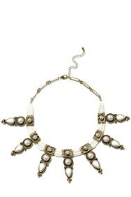 Aztec necklace Warehouse SS15