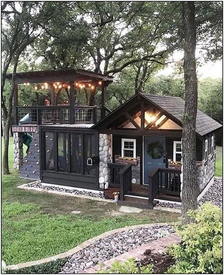 151 Genius Ideas For Your Tiny House Project 132 Homydepot Com In 2020 Best Tiny House Dream House Exterior Small House Design