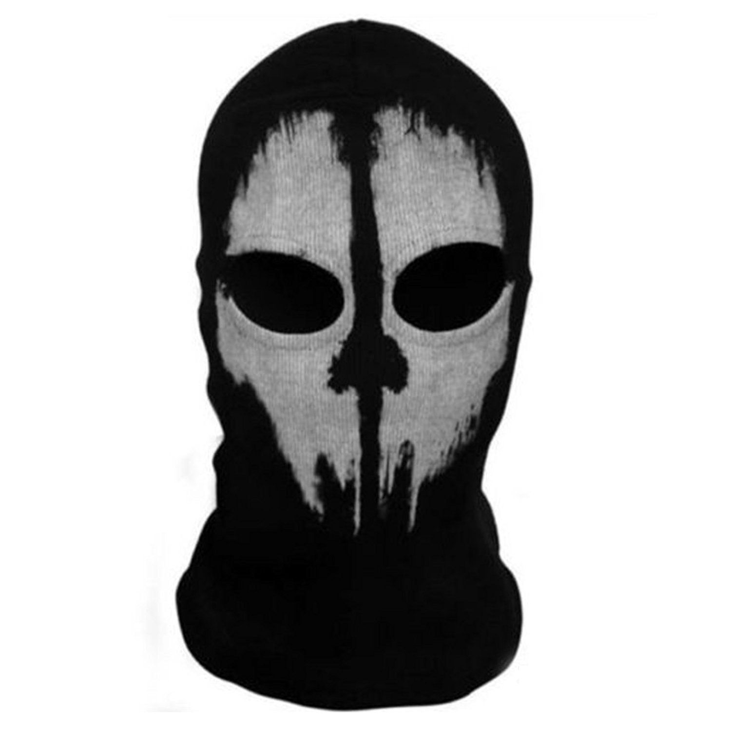 SPRINGWIND Balaclava Ghost Skull Cosplay Face Mask Call Of Duty ...