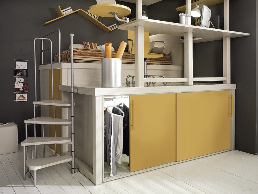 Teenage bedroom TIRAMOLLA 182 Tiramolla Collection by TUMIDEI | design  Marelli e Molteni