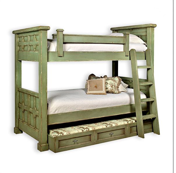 bunk bed idea - just like when we were kids