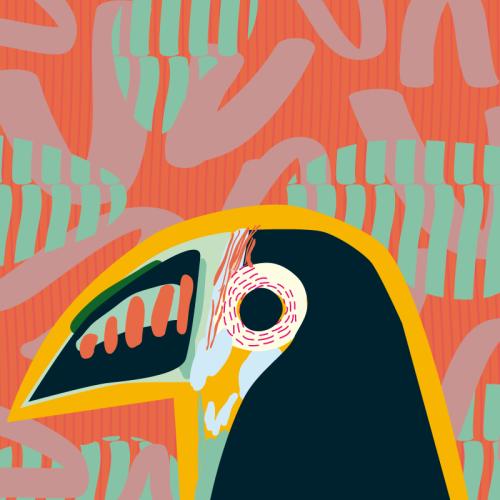 animalartonline:  Tucan by Mariery Young Follow me...