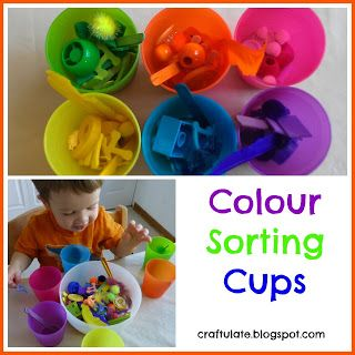 Craftulate: Colour Sorting Cups